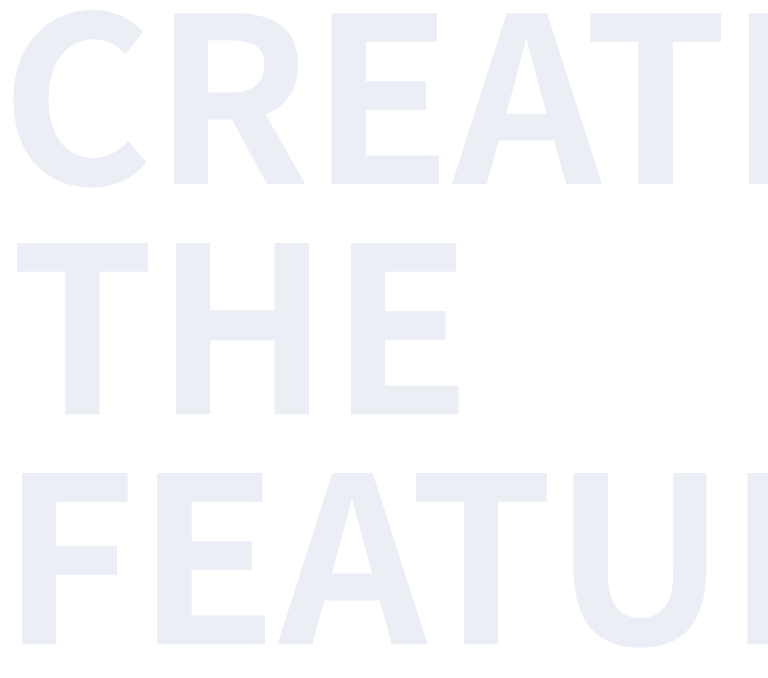 CREATE THE FEATURE